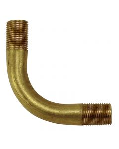 "Solid Brass Bent Arm - 1-3/4"" X 1-3/4"""