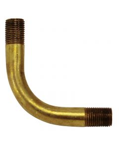 "Solid Brass Bent Arm - 2"" X 2"""