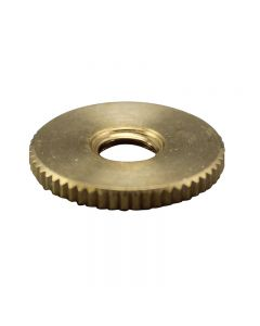 Brass 1/4-27 - Knurled Lock Nut