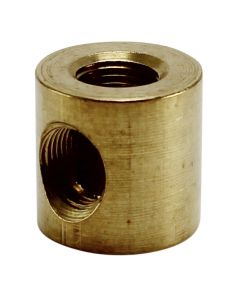 3-Way Solid Brass Elbow