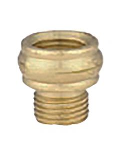 "9/16"" Beaded Brass Nozzle"
