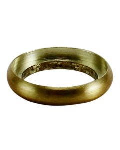 "1/2"" Brass Turned Check Ring - Satin Brass"