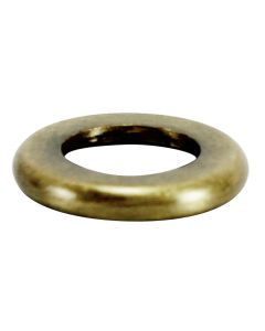 "5/8"" Brass Turned Check Ring - Antique Brass"