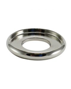"3/4"" Brass Turned Check Ring - Polished Nickel"