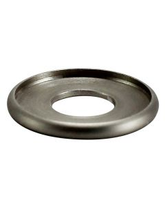 "7/8"" Brass Turned Check Ring - Satin Nickel"
