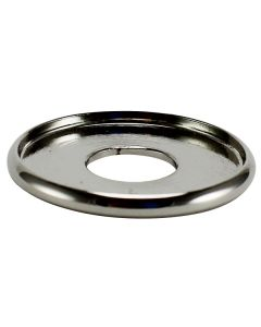 "1"" Brass Turned Check Ring - Polished Nickel"
