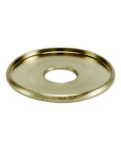 "1-1/4"" Brass Turned Check Ring - Satin Brass"