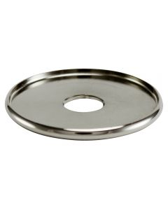 "1-1/2"" Brass Turned Check Ring - Polished Nickel"