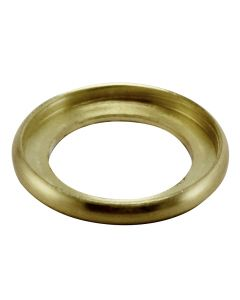 "3/4"" Brass Turned Check Ring - Satin Brass"