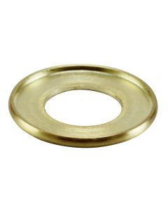 "1"" Brass Turned Check Ring - Satin Brass"