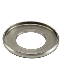 "1"" Brass Turned Check Ring - Satin Nickel"