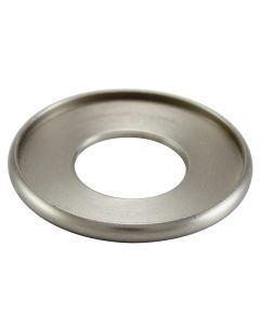 "1-1/8"" Brass Turned Check Ring - Satin Nickel"