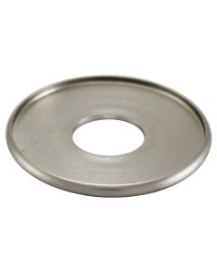 "1-1/2"" Brass Turned Check Ring - Satin Nickel"