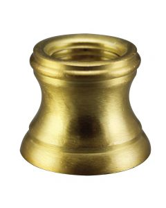 "1/2"" Brass Turned Neck 1/8 IPS - Satin Brass"