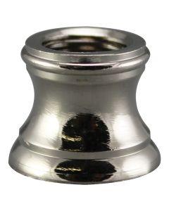 "1/2"" Brass Turned Neck 1/8 IPS - Polished Nickel"