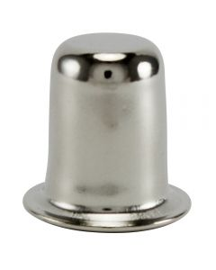 "1"" Stamped Finial - Polished Nickel"