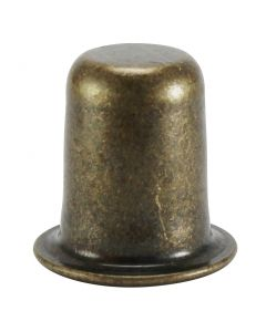 "1"" Stamped Finial - Antique Brass"