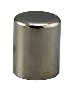 "5/8"" Small Cylinder Finial - Polished Nickel"