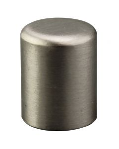 "5/8"" Small Cylinder Finial - Satin Nickel"