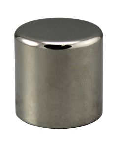 "3/4"" Medium Cylinder Finial - Polished Nickel"