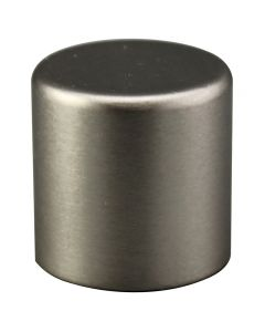 "3/4"" Medium Cylinder Finial - Satin Nickel"