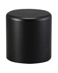 "3/4"" Medium Cylinder Finial - Black"