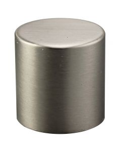 "1"" Large Cylinder Finial - Satin Nickel"