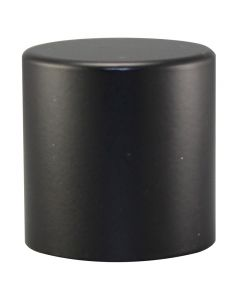 "1"" Large Cylinder Finial - Black"