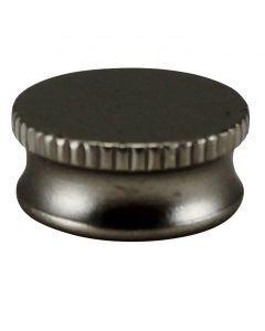 "9/16"" Brass Bracket Cap - Satin Nickel"