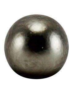 "3/8"" Turned Solid Brass Ball - Satin Nickel"