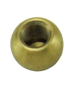 "3/4"" 1/8IP Turned Solid Brass Ball - Unfinished"