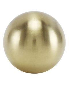 "1-1/2"" 1/8IP Turned Solid Brass Ball - Unfinished"