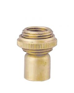 Hang Straight Swivel - Solid Brass - 1/4F X 1/8F