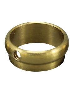 "Slip Ring - Unfinished Brass - 3/4"" OD Tubing"