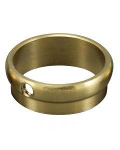 "Slip Ring - Unfinished Brass - 7/8"" OD Tubing"