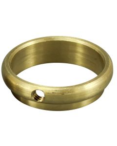"Slip Ring - Unfinished Brass - 1"" OD Tubing"