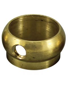 "Slip Ring - Unfinished Brass - 1/2"" OD Tubing"