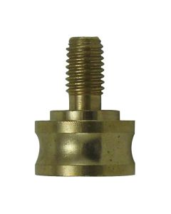 Solid Brass Finial Adapter - Unfinished
