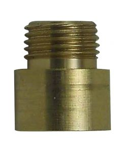 Solid Brass Straight Nozzle - 1/8F x 1/8M