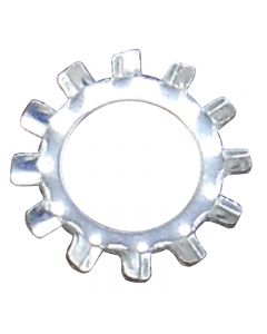 Steel Shake Proof Lock Washer - Zinc Plated