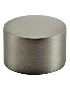 Small Flat Brass Caps - Satin Nickel