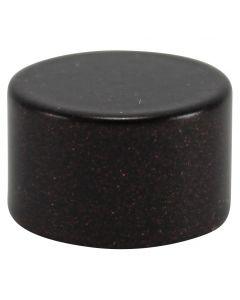 Small Flat Brass Caps - Bronze