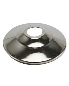 "1-3/4"" Steel Vase Cap - Polished Nickel"