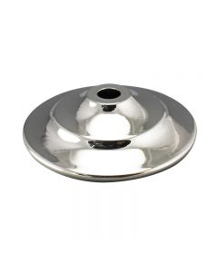 "3-1/8"" Steel Vase Cap - Polished Nickel"