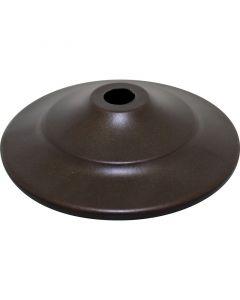 """2"""" Steel Vase Cap - Bronze"""