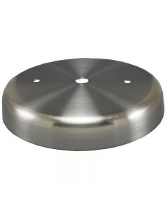 Plain Round Steel Canopy - Satin Nickel