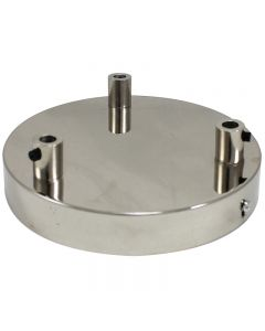 3-Port Canopy - Polished Nickel