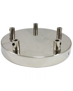 5-Port Canopy - Polished Nickel