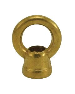 "1"" Cast Brass Loop With Wireway - Unfinished"