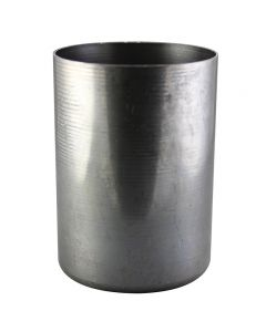 "2-1/4"" Steel Medium Base Straight Edge Candle Cup - Unfinished"
